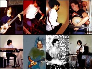 Le groupe CONCEPT en 1982 (Jean-Luc Payssan / Thierry Payssan / Eric Rebeyrol / François Péron).