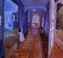 Peinture de Daniel Authouart (initialement envisagée pour l'album)