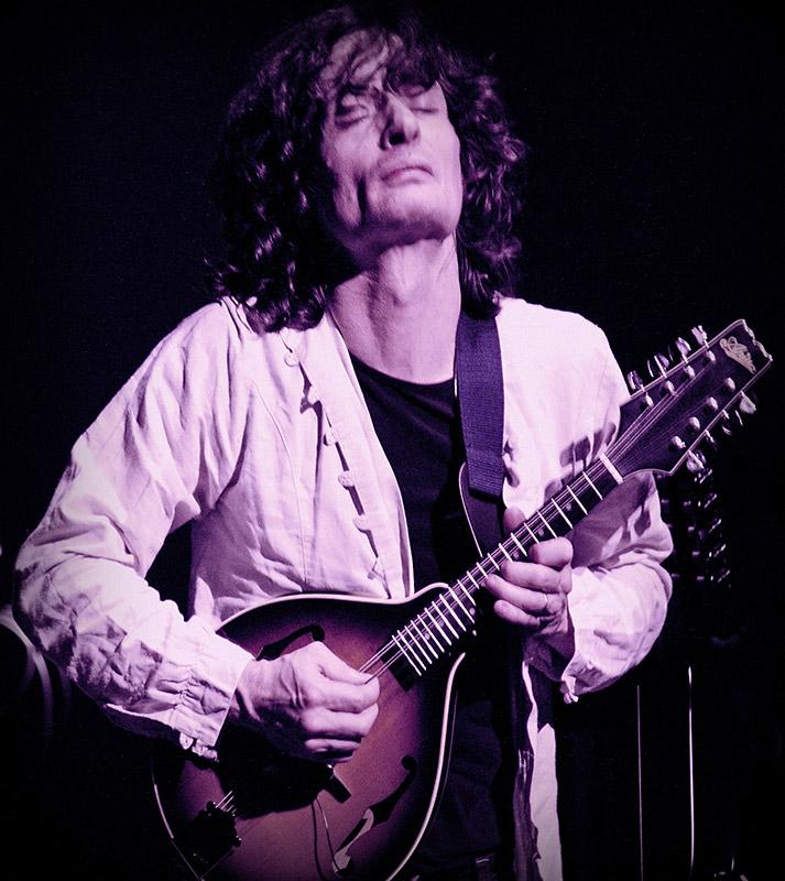 Jean-Luc Payssan avec la mandoline Aria