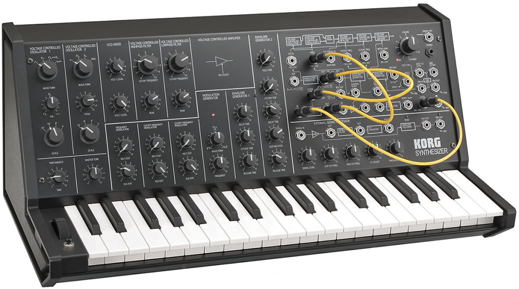 Le Korg MS20 avec Minimum Vital
