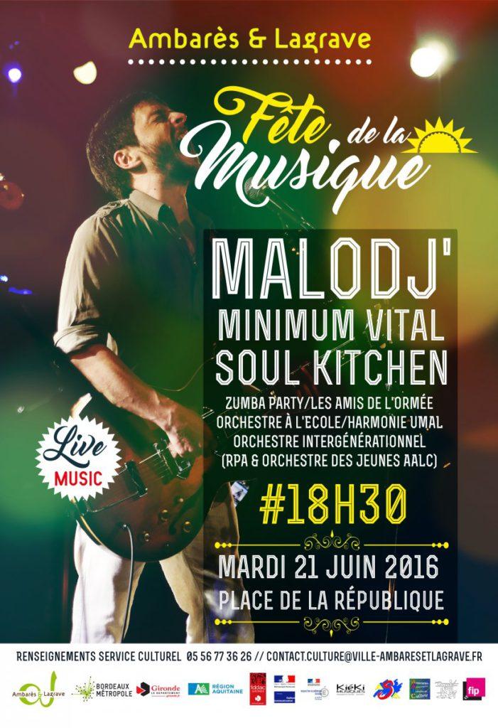 La Fête de la Musique 2016 à Ambarès