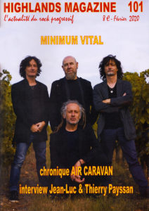 MINIMUM VITAL interview HIGHLANDS MAGAZINE